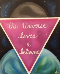 The Universe Loves a Believer Amanda Liberty 2015