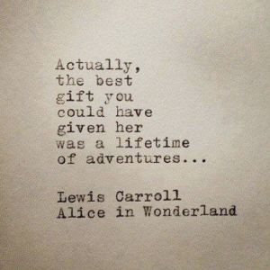 Lewis Carroll, Alice in Wonderland