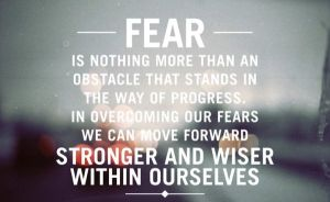 fear overcoming