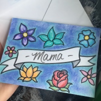 Homemade Mother's Day Card